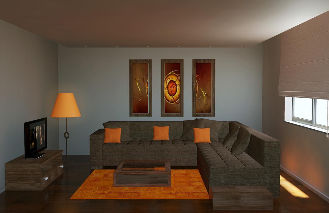 Nos r alisations projet home and sofa casablanca maroc for Modele salon
